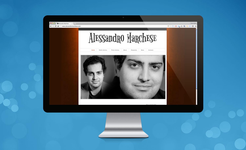 Realizzazione Sito Web Alessandro Marchese
