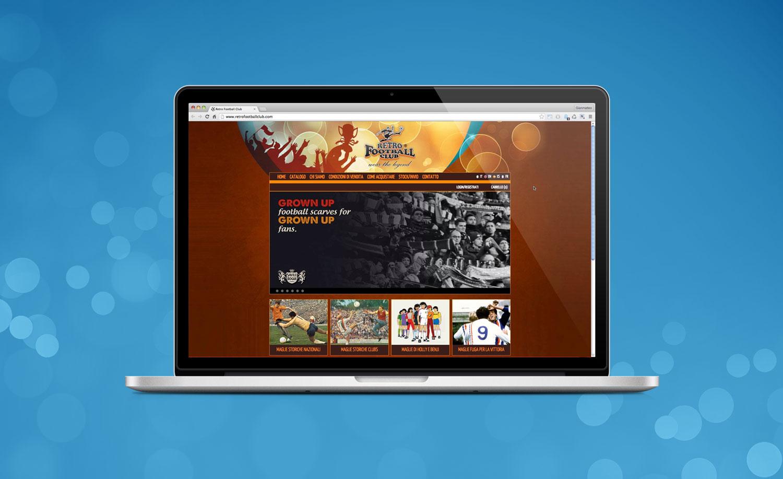 Realizzazione Sito Web RetroFootballClub