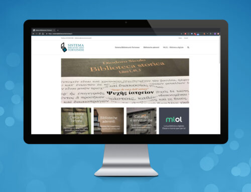 Sito Web Sistema Bibliotecario Tortonese