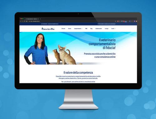 Sito Web Elena Borrione