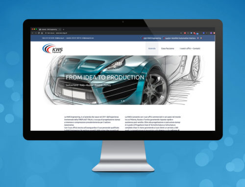 Sito Web KWS Engineering SA